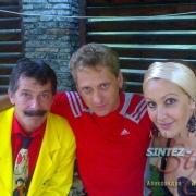 Борис Барский, Александр Жуковин и Снежана Егорова